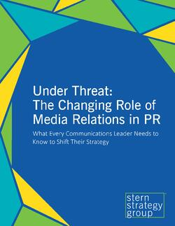 Under Threat: The Changing Role of Media Relations in PR